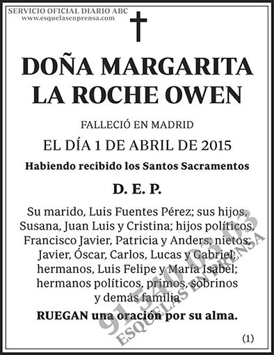 Margarita la Roche Owen